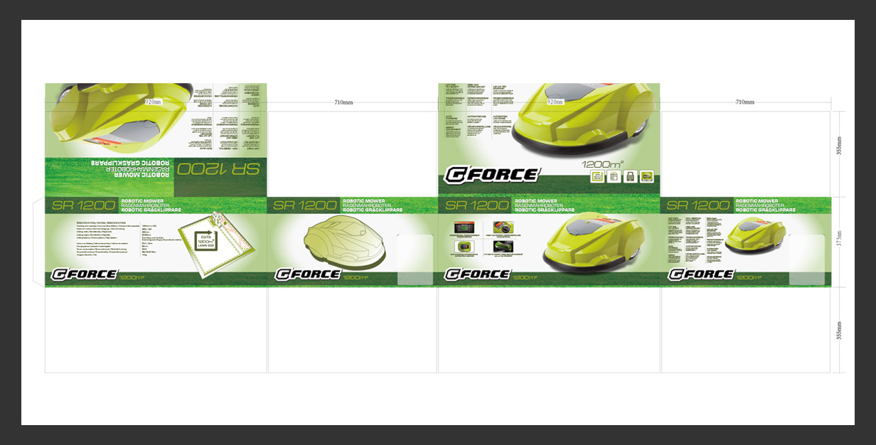 SUMEC SR1200 PACKAGING